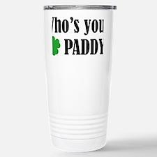 whosPaddy1A Stainless Steel Travel Mug