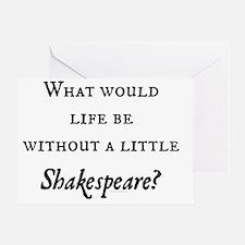 Shakespeare! Greeting Card