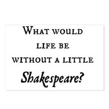 Shakespeare! Postcards (Package of 8)