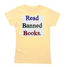 Read Banned Books. Girl's Tee