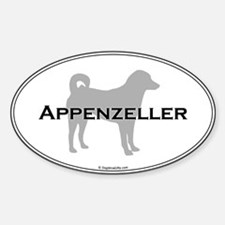 Appenzeller Oval Decal