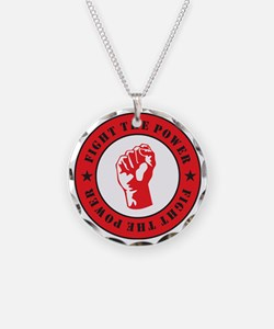 Fight The Power Necklace