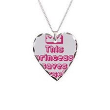 This Princess Saves Herself Necklace