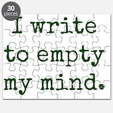 Empty mind. Puzzle