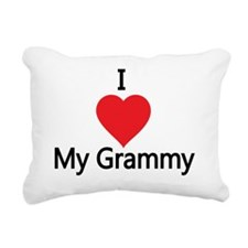 I love my grammy Rectangular Canvas Pillow