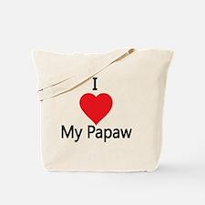 I love my Papaw Tote Bag