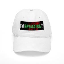 Got Brains? Baseball Cap