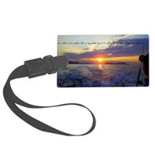 Fishermans Prayer Luggage Tag