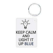 Light It Up Blue!!! Keychains