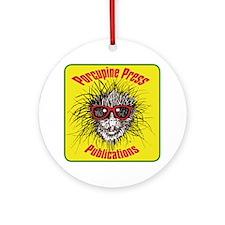 Porcupine Press Logo Round Ornament
