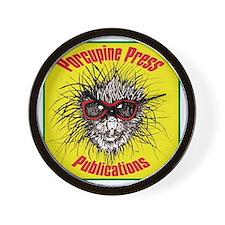 Porcupine Press Logo Wall Clock