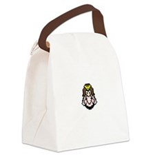 Many Hearts Back New Canvas Lunch Bag