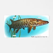 Muskellunge Aluminum License Plate