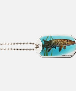 Muskellunge Dog Tags