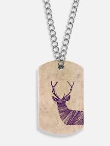 Deer Portrait Dog Tags