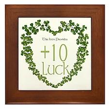 Luck Modifier Framed Tile