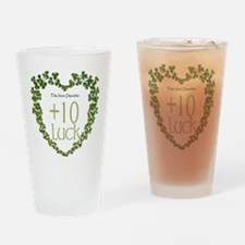 Luck Modifier Drinking Glass