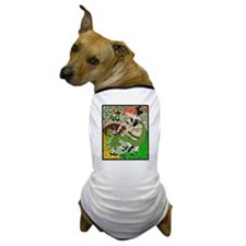 Dancing with Leprechauns Dog T-Shirt