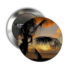"Sunset on Oahu 2.25"" Button"