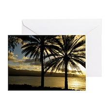 Sunset Haleiwa, Oahu Greeting Card