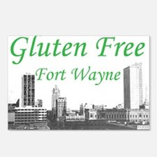 Gluten Free Fort Wayne Postcards (Package of 8)
