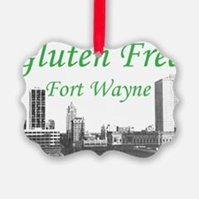 Gluten Free Fort Wayne Ornament