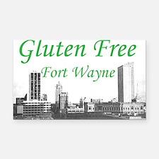 Gluten Free Fort Wayne Rectangle Car Magnet