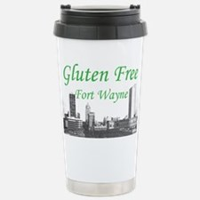Gluten Free Fort Wayne Stainless Steel Travel Mug