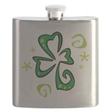 St Patrick's Day T-Shirt Flask