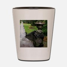 Ashford Castle Gardens, Galway, Ireland Shot Glass