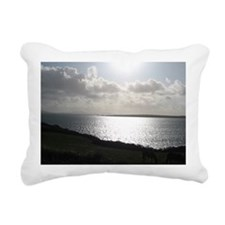 Late Afternoon on the Di Rectangular Canvas Pillow