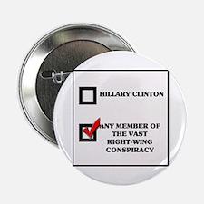 Hillary Clinton VRWC Button