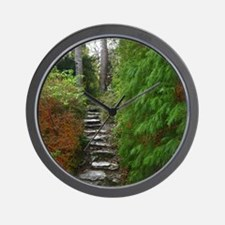 Garden Path at Muckross House, Killarne Wall Clock