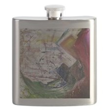 Rainbow Quartz Flask