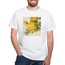 Botanical Yellow Roses Shirt
