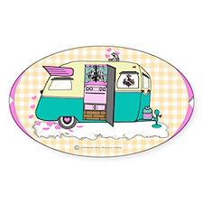 lil vintage trailer Decal