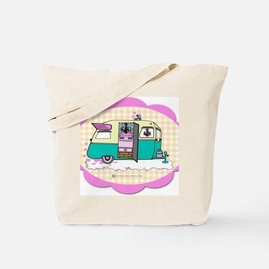 lil vintage trailer Tote Bag