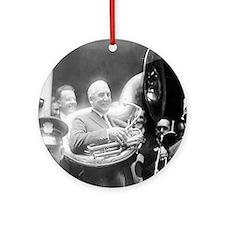 Warren G. Harding - Sousaphone Round Ornament
