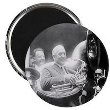 Warren G. Harding - Sousaphone Magnet