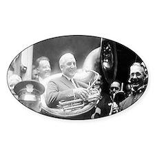 Warren G. Harding - Sousaphone Decal