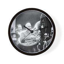 Warren G. Harding - Sousaphone Wall Clock