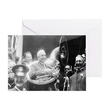 Warren G. Harding - Sousaphone Greeting Card