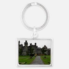 Ashford Castle, Galway, Ireland Landscape Keychain