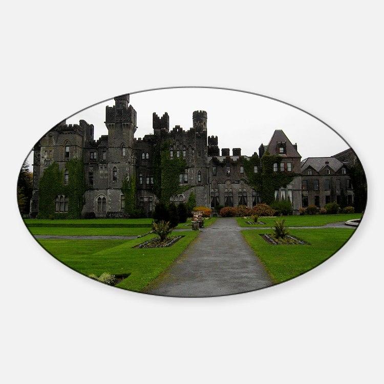 Ashford Castle, Galway, Ireland Decal