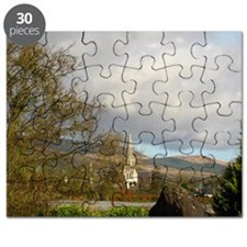 A Kenmare Church Against the Backdrop of Co Puzzle