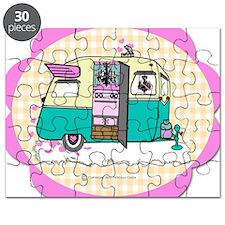 lil vintage trailer Puzzle