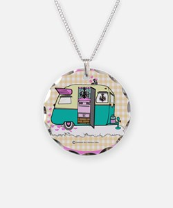 lil vintage trailer Necklace