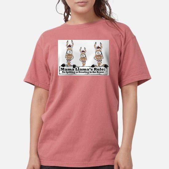 Mama Llamas Rules T-Shirt