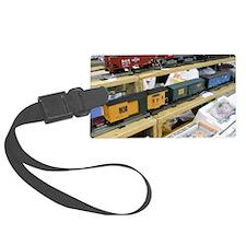 Adding Trains Luggage Tag
