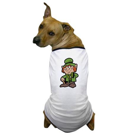 Lucky Little Irish Leprechaun Dog T-Shirt